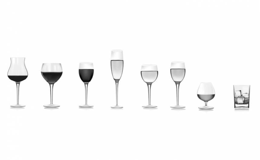 forme d'un verre à vin a-t-elle une importance